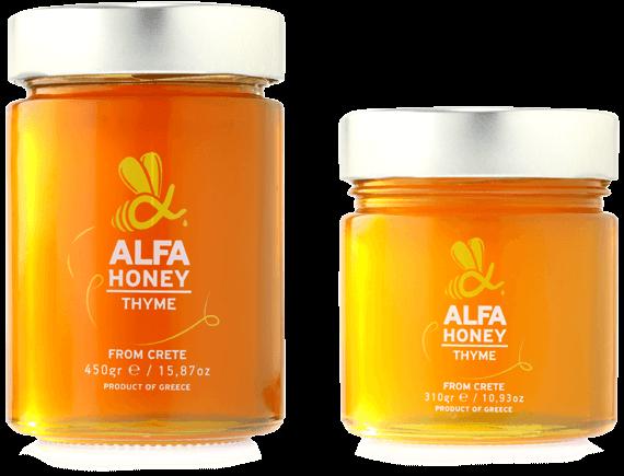 Alpha Honey - Κρητικό μέλι με θυμάρι και άγρια κρητικά βότανα